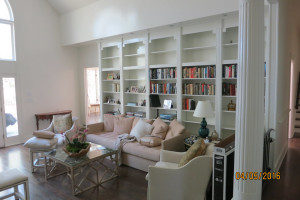 Interior Painting Library Before and After - After